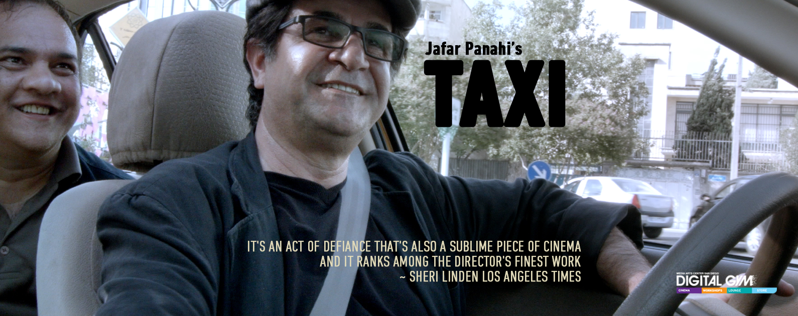 Jafar Panahi's TAXI Returns to the Digital Gym Cinema (Jan. 8 – 14)