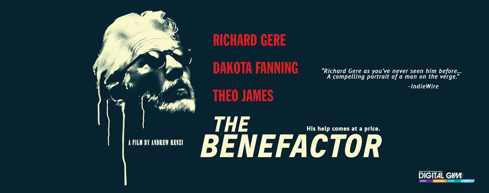 The Benefactor with Dakota Fanning, Theo James, and Richard Gere (Jan 15-21)