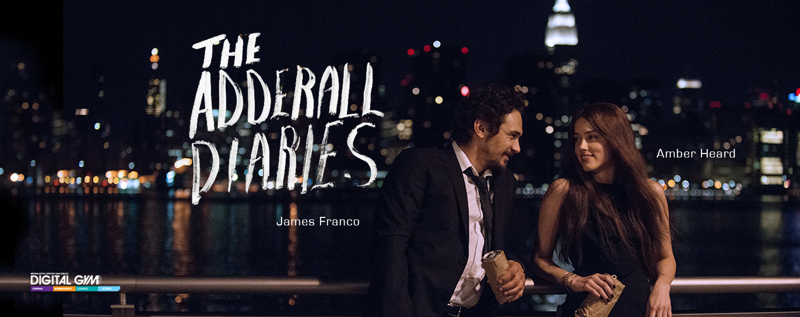 Murder Mystery The Adderall Diaries Starring James Franco (April 15 – 21)