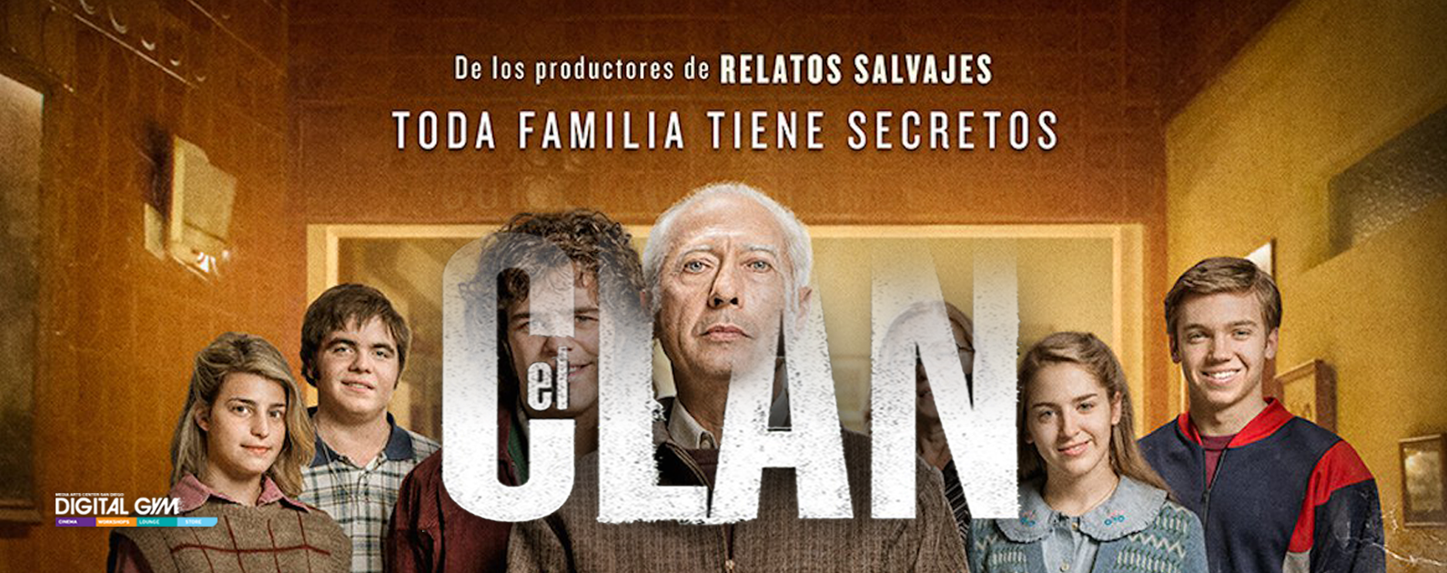 Argentina's explosive thriller EL CLAN extended through May 12!