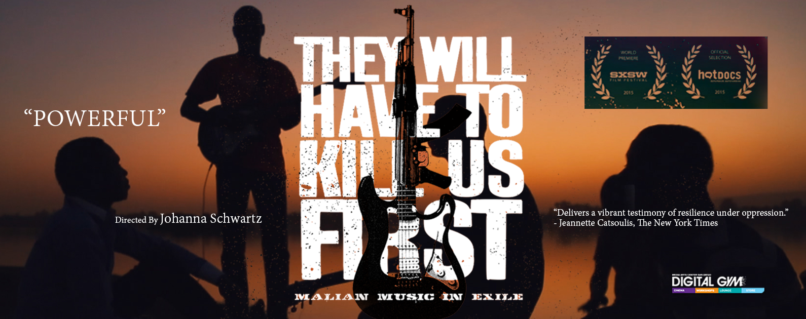 "Mali Doc, ""They Will Have To Kill Us First: Malian Music In Exile:"" Now Playing (May 27 – June 2)"