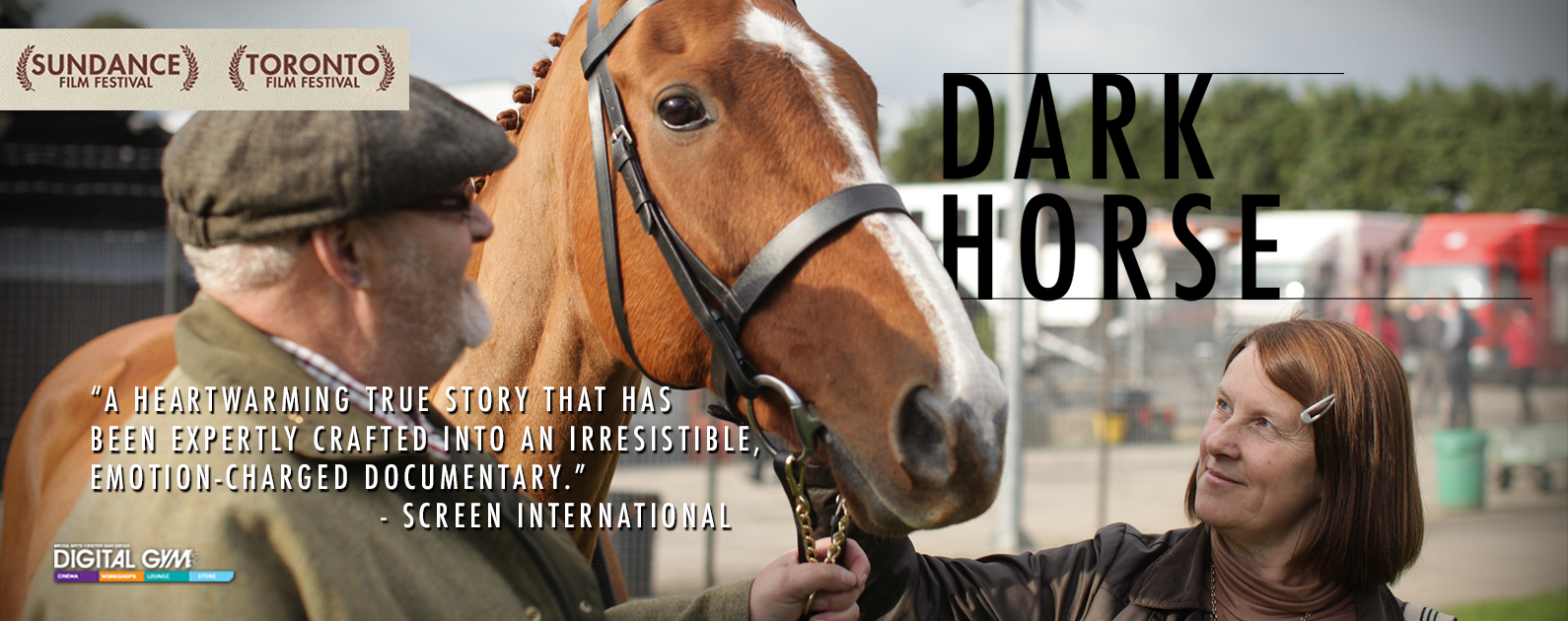 Award Winning Horse Racing Documentary DARK HORSE Gallops into the Digital Gym Cinema!