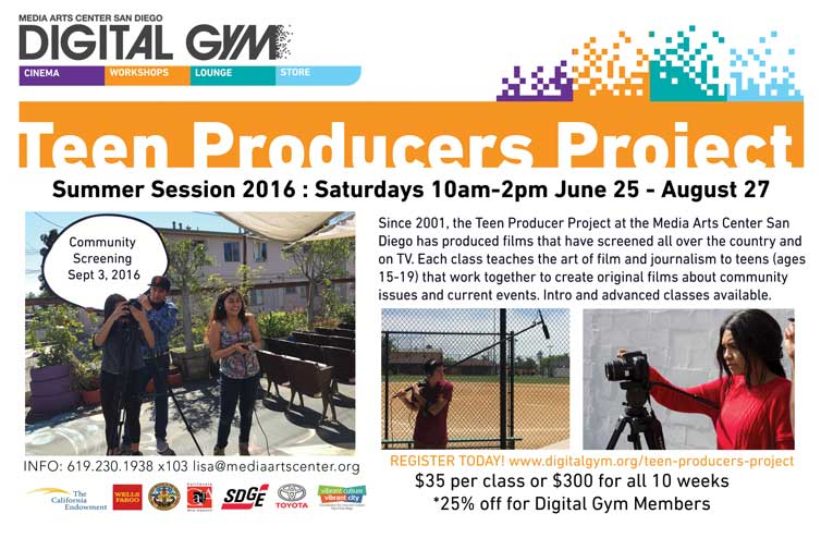 Sign Up For Summer Teen Filmmaking Classes Today!