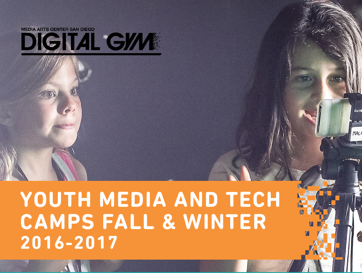 Fall Youth Media & Tech Camps (November 21-23)