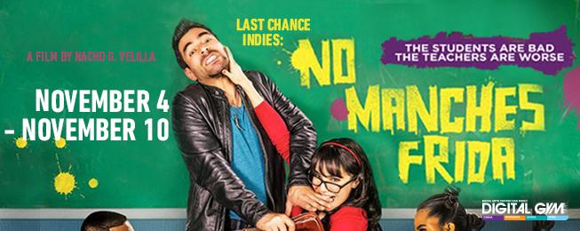 Omar Chaparro in Mexican Comedy, No Manches Frida, Nov. 4-10