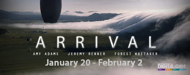 """Arrival"" – Nominated for 8 Oscars including BEST PICTURE and BEST DIRECTOR (January 20 – February 2)"