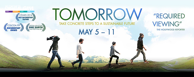 """""""Tomorrow"""" – inspirational documentary by French actress Mélanie Laurent (May 5 – May 11)"""