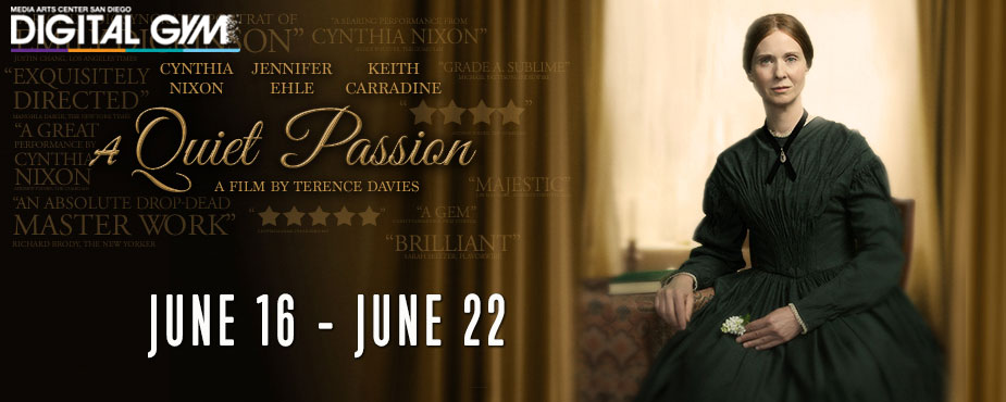 Cynthia Nixon As Emily Dickinson in A Quiet Passion (June 16-22)