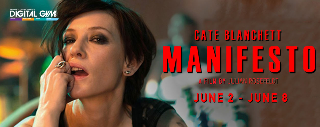 "Academy Award Winner Cate Blanchett in ""Manifesto"" (June 2 – June 8)"