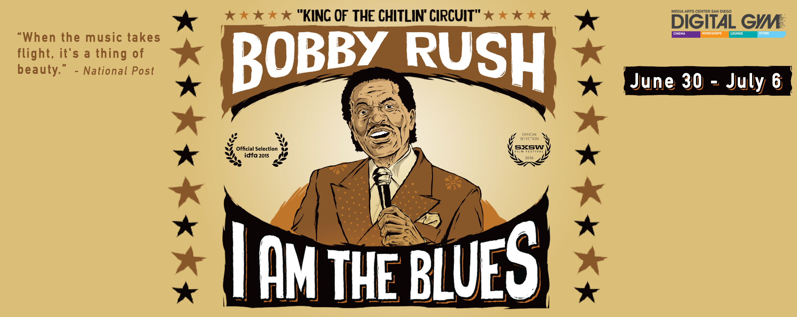 I Am the Blues – a musical journey with the last legends of Blues (June 30 – July 6th)
