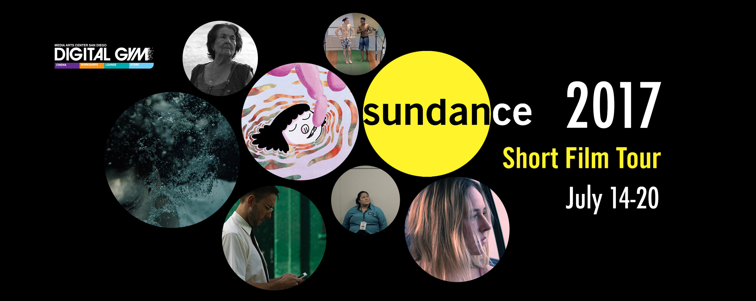2017 Sundance Film Festival Short Film Tour (July 14 – July 20)