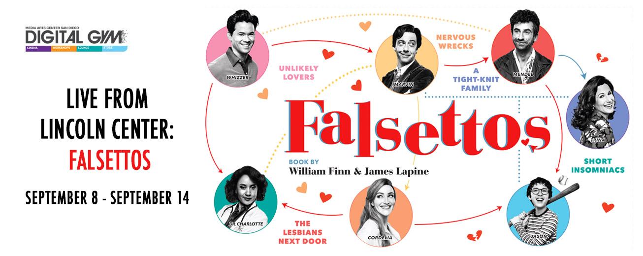 Live From Lincoln Center: Falsettos (September 8 – September 14)