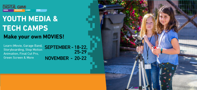 2017 Fall Youth Media & Tech Camps (November 20-22)