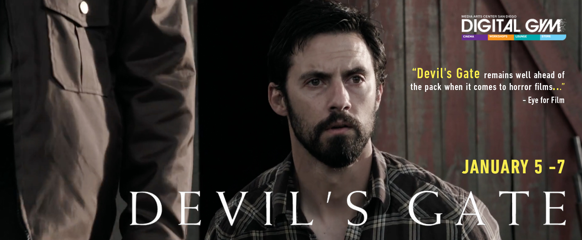 IFC Midnight Presents: Devil's Gate – starring Milo Ventimiglia in sci-fi genre bender (January 5 – January 7)