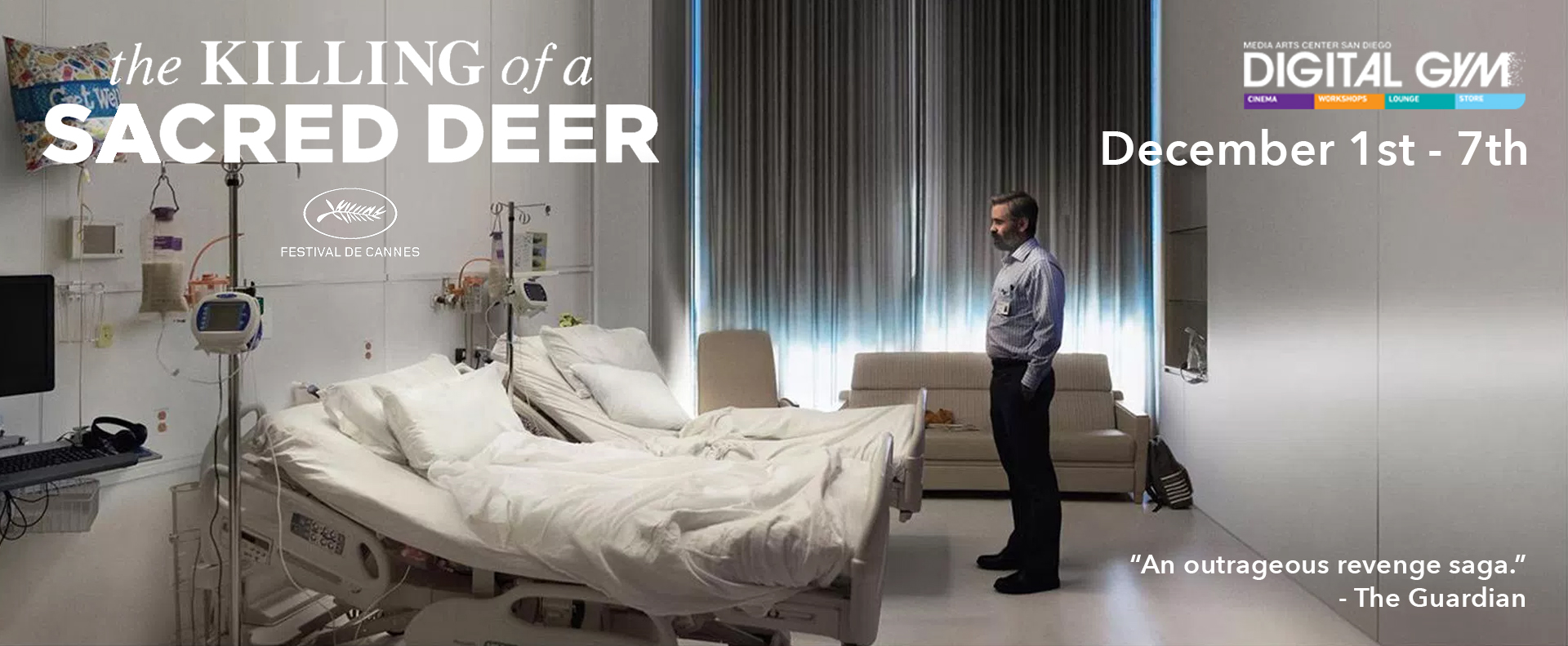 Last Chances Indies: The Killing of a Sacred Deer (December 1 – December 7)