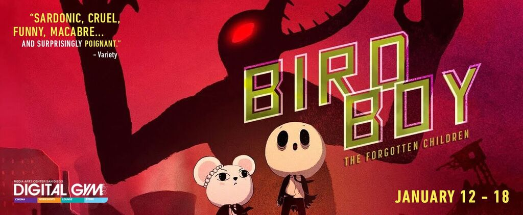 Spain's Award-winning Animated Feature, Birdboy: The Forgotten Children (January 12 – 18)