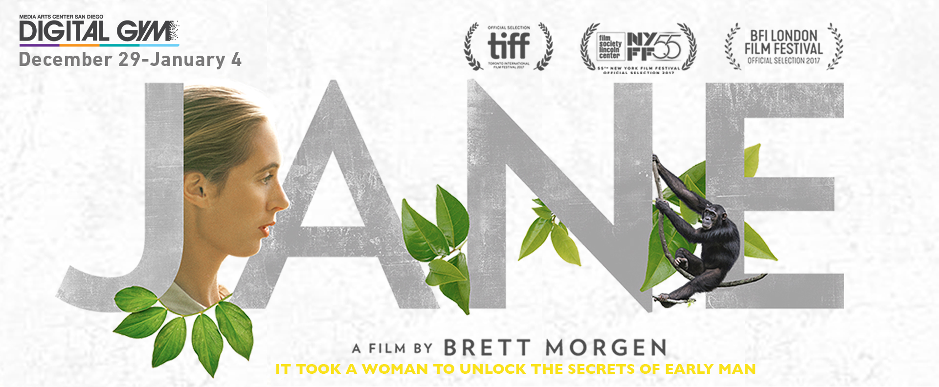 "FOR YOUR CONSIDERATION – Critically acclaimed documentary ""JANE"" (December 29 – January 4)"