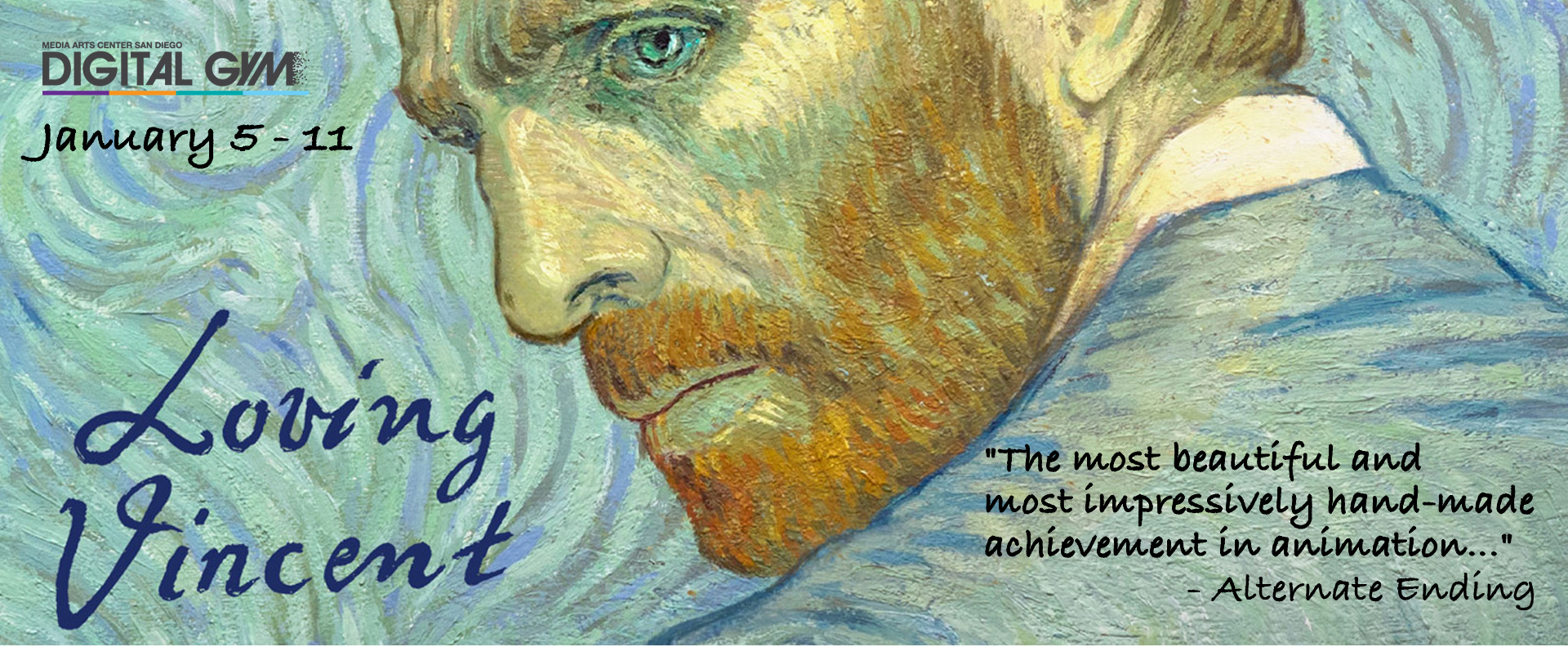 BACK BY POPULAR DEMAND: Loving Vincent (January 5 – January  11)