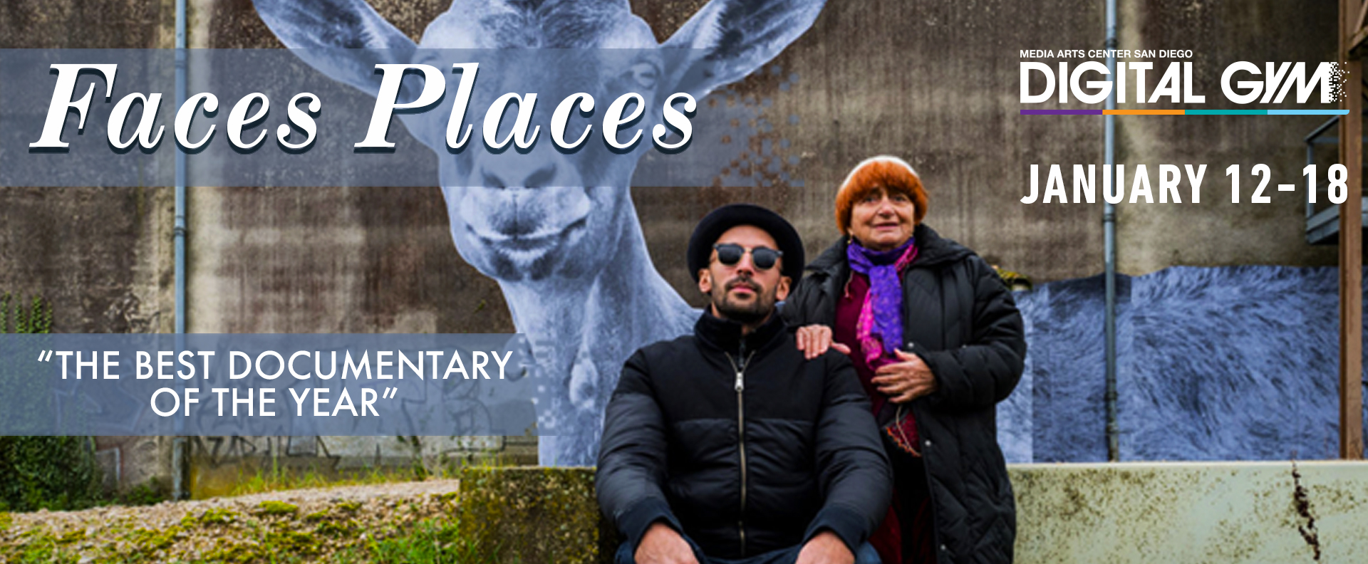 "French Cinema's icon Agnès Varda in ""FACES PLACES"" (Jan 5-11, 12-18)"