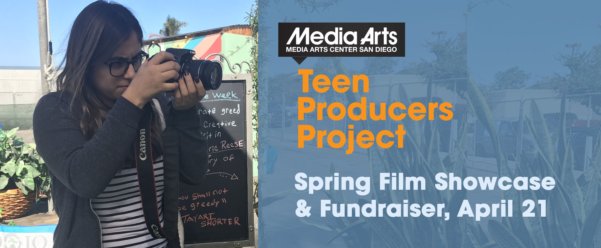Spring 2018 Teen Producers Project Film Showcase (April 21)