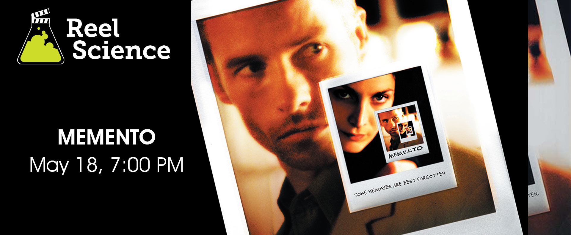 Reel Science Film Series: Memento (May 18)