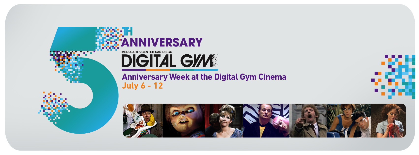 5-Year Anniversary Celebration at Digital Gym Cinema