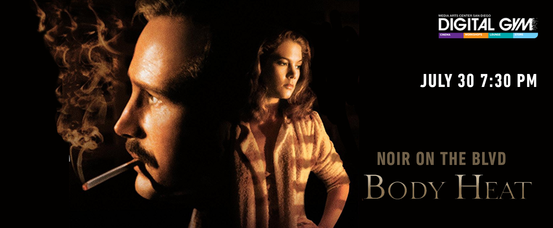 Noir on the Boulevard: Body Heat (July 30)
