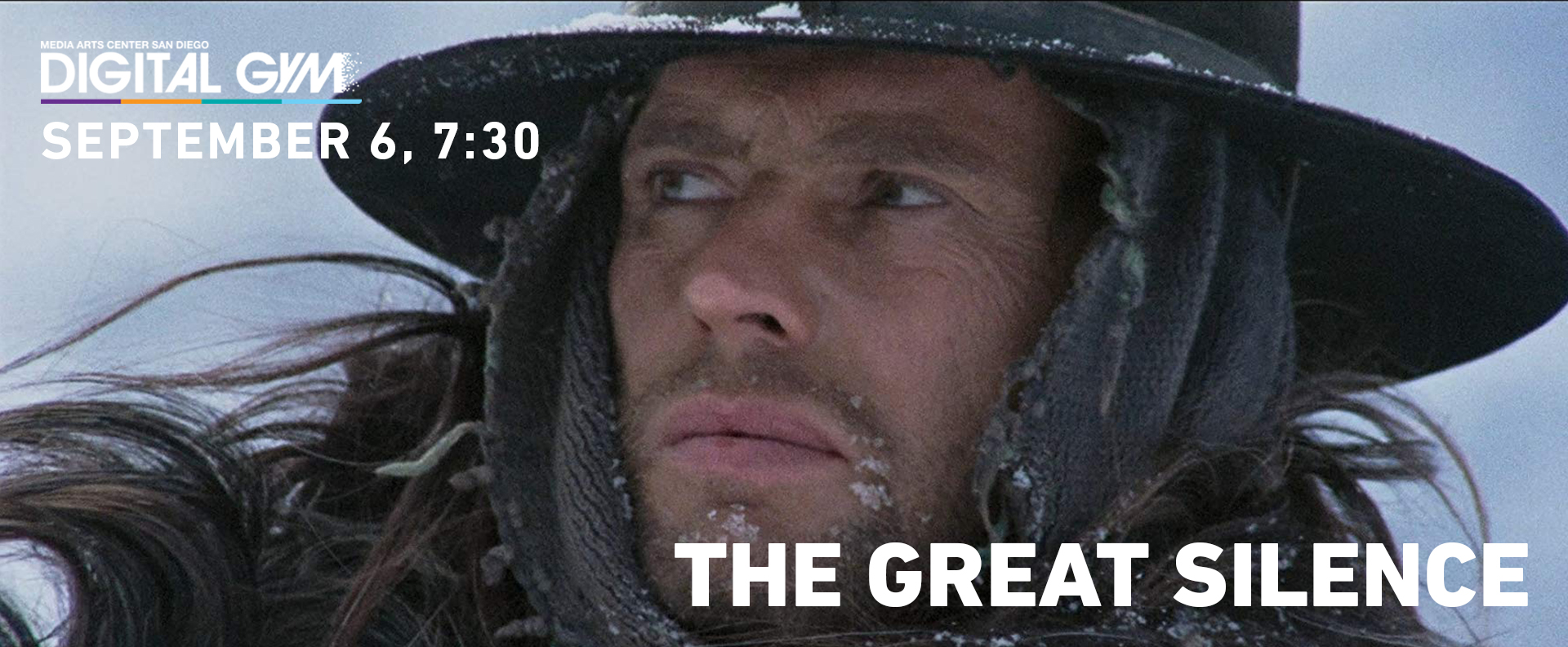 Film Geeks SD Present: The Great Silence (September 6)