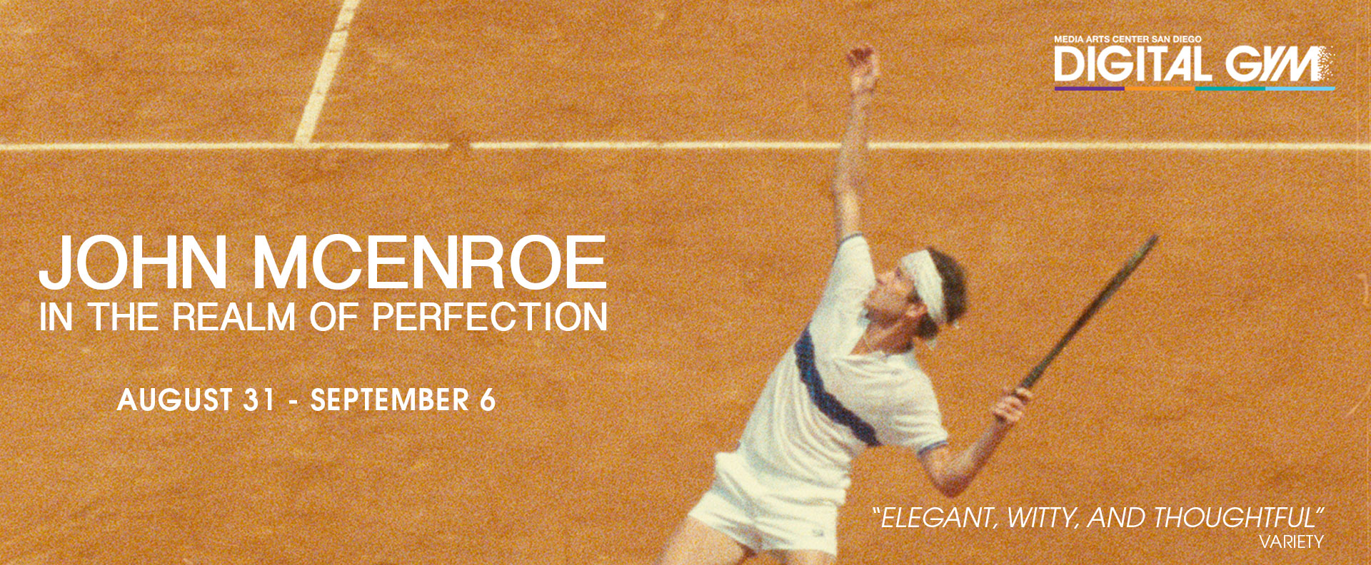 John McEnroe: In The Realm Of Perfection (August 31 – September 6)