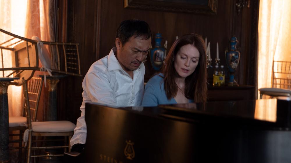 Julianne Moore, Ken Watanabe, and Tenoch Huerta star in BEL CANTO (September 21 – 27)