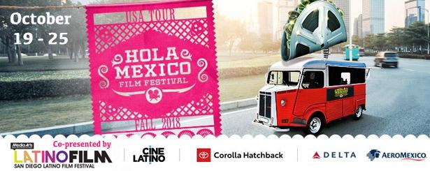 Hola Mexico 2018 Digital Gym Cinema San Diego