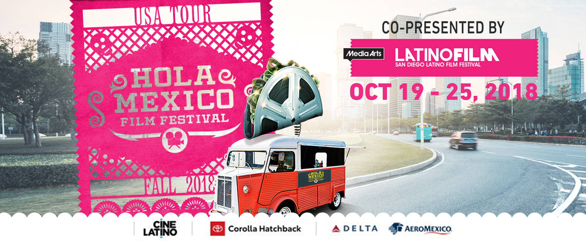 The Hola Mexico Film Tour 2018 Arrives at the Digital Gym Cinema! (October 19 – 25th)