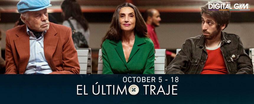 El último traje (October 5 – October 18)