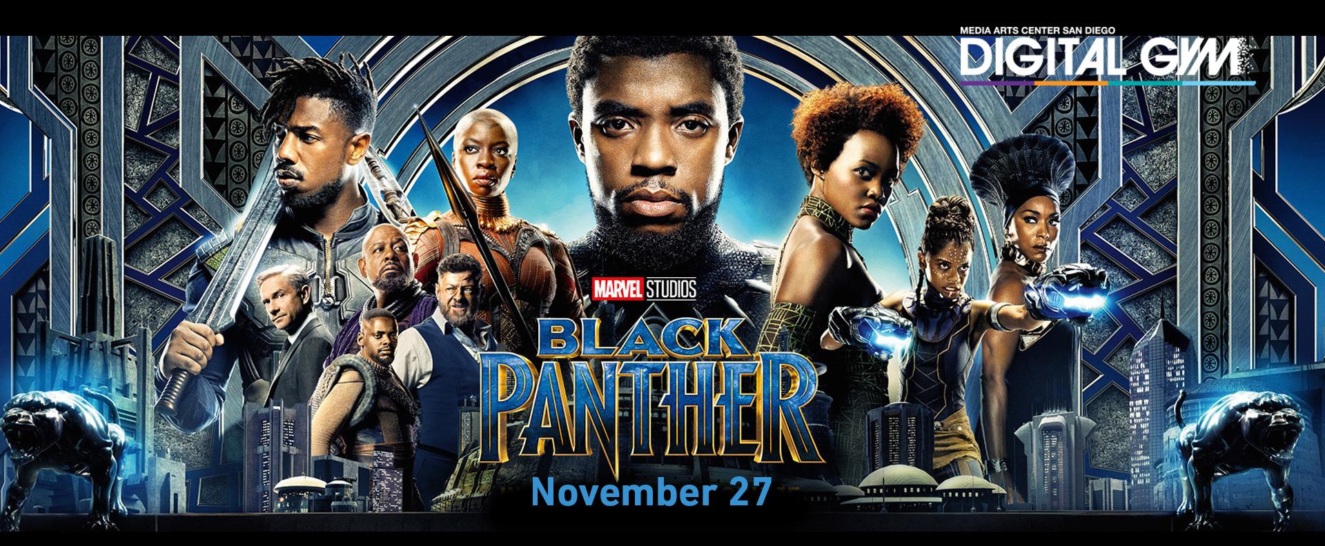 Black Panther free Digital Gym Cinema San Diego
