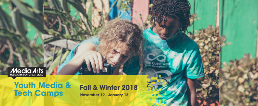 Youth Media & Tech Camps – Fall/Winter 2018-2019