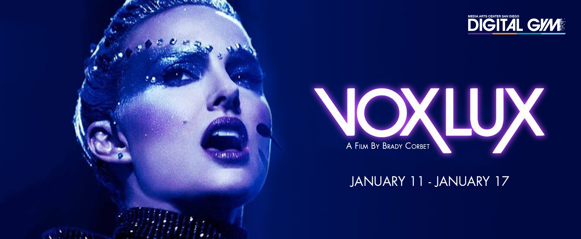 vox lux Digital gym cinema San Diego