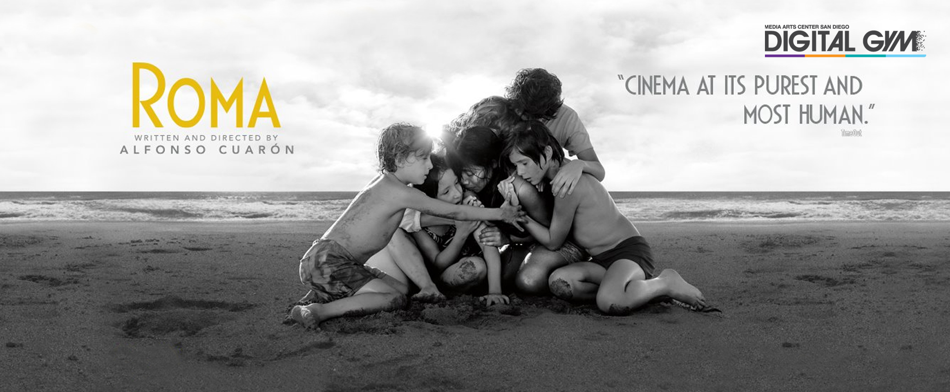Alfonso Cuarón's masterpiece ROMA (December 14 – January 24)
