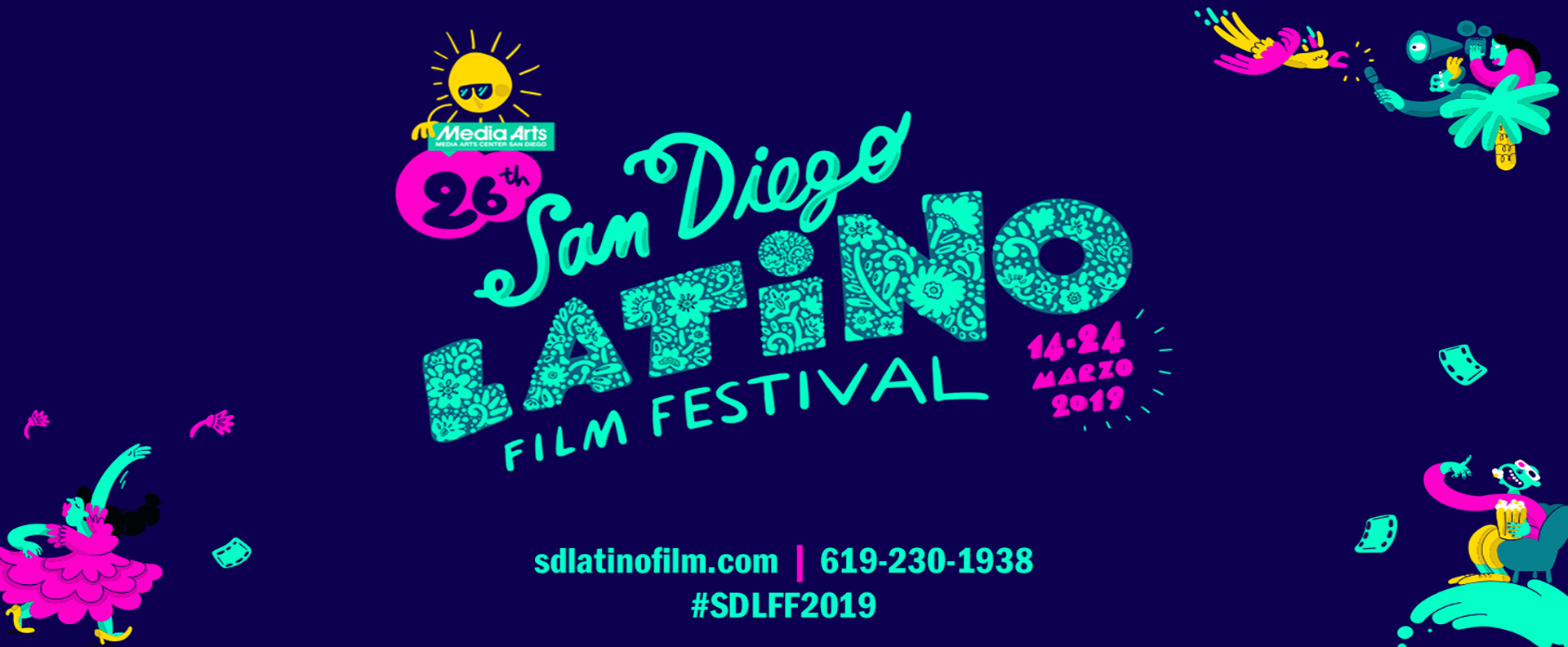 The 26th San Diego Latino Film Festival (March 14 – 24)