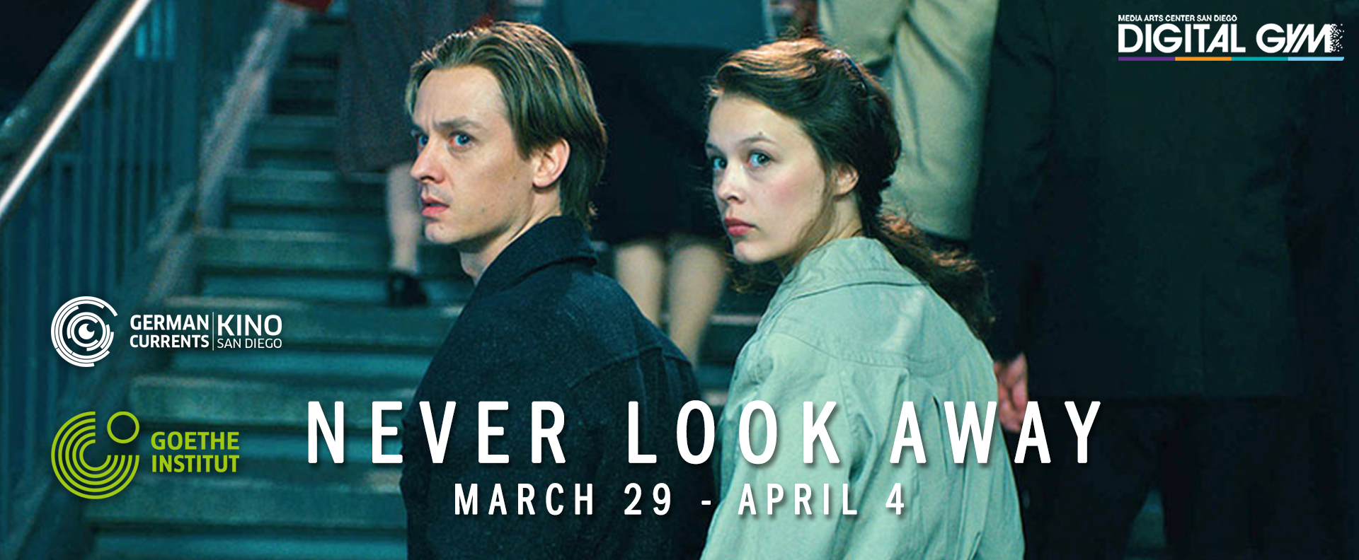 Never Look Away (Week One Autor) (March 29 – April 11)