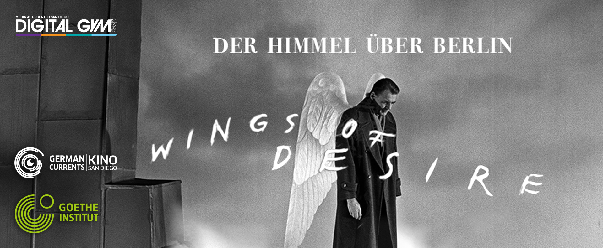 German Currents Kino: WINGS OF DESIRE – 4K Digital Restoration!  (April 26)
