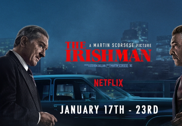 For Your Consideration: The Irishman (January 17 – January 23)