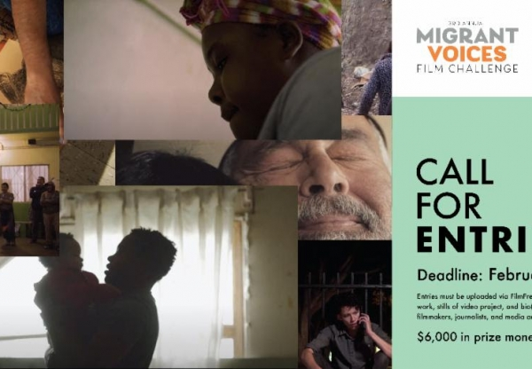 Call for Entries! Migrant Voices Today Film Competition